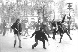 Riauses paryzius 1968