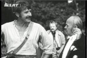 Kadras iš 1972 m. filmo Tadas Blinda