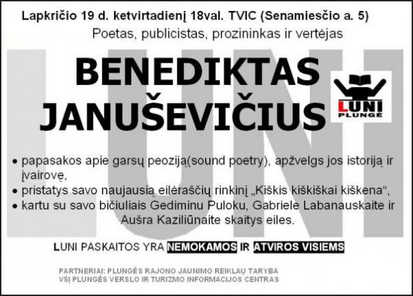 LUNI Plunge Benediktas Janusevicius